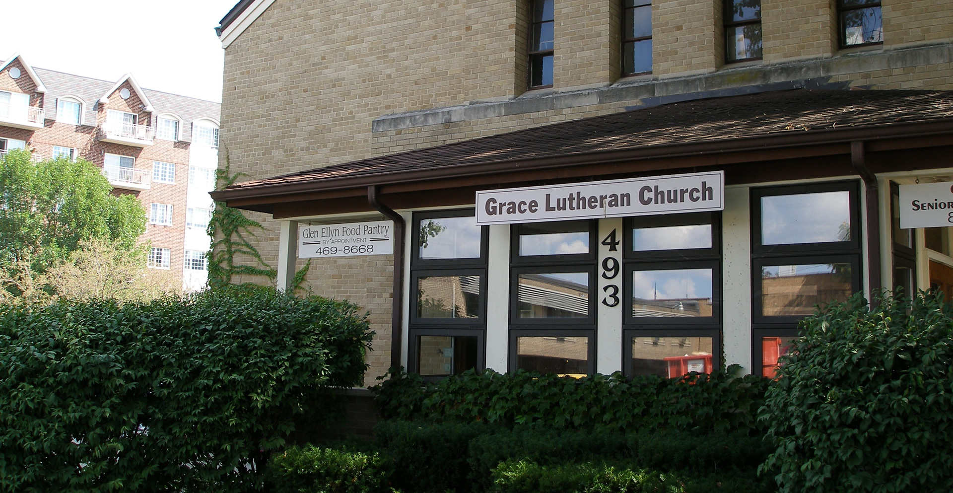 Contact Page Image of Grace Lutheran Church Building